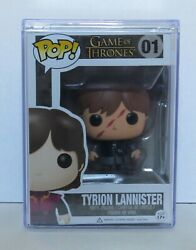 Scarred Tyrion Lannister 01 Game Of Thrones Funko Pop Rare Grail W/ Hard Stack