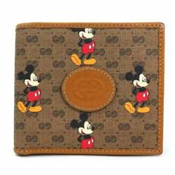 Auth Mini Gg Supreme Disney X Mickey Mouse Coin Wallet - Y15135g