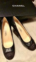 Ginza Main Store Popular Sold Out Pumps Black Size Women 6.5us