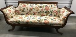 Antique Federal Style Sofa Couch - Amazing