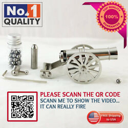 Napoleon Cannon Model Metal Replica Desktop Decorating And Collectibles Can Fire