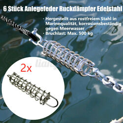 2pcs Stainless Steel Boat Docking Mooring Spring Damper Snubber Marine  C And