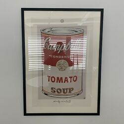 Licensed Andy Warhol Foundation Campbell's Soup 1 Tomato Neues Pubg. Germany