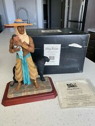 Thomas Blackshear Signed The Protector First Issue Ebony Visions Figurine 37007