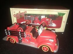 Rare Dept 56 A Christmas Story - Christmas Story Fire Truck - Retired 2008 94263