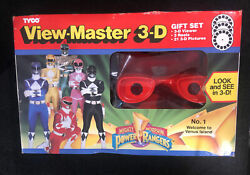 View-master 3-d Gift Set Power Rangers 1994 New Unopened Sealed Viewmaster