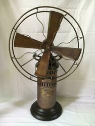 Antique Kerosene Oil Operated Steam Fan Working Collectibles Museum Vintage Gift