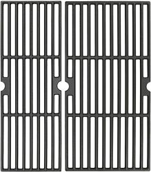18 Matte Cast Iron Cooking Grids Replacement For Charbroil Performance 2 Burner