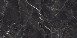 24x24 Grigio Black Polished Porcelain Tile Sold By Pallet 465sq 3/8 Thick