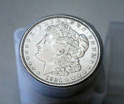 Vintage Roll Of 20 1921 Morgan Silver Dollar Coins Various Mints Ciruclated