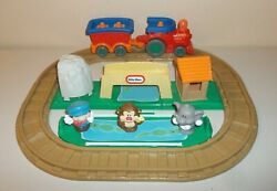 Little Tikes Little People - Fold Up And Gr Train Set With Figure And Animals - Work