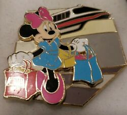Disney Pin 00024 Minnie Mouse Red Monorail Pp Preproduction Sample Proof Le