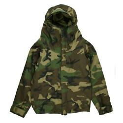 U.s. Army Ecwcs Early Model Camouflage Gore-tex Mountain Parka Xs 1988 Vintage
