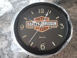 Harley Davidson Two Sided Clock - Free Shipping