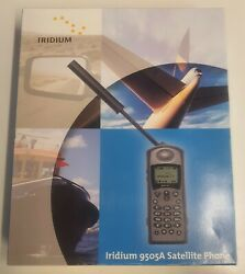 Iridium 9505a - Satellite Phone With Sim Card - Opened But Not Used.