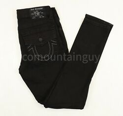 True Religion Rocco Relaxed Skinny Menand039s Body Rinse Black