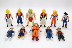 Lot Of 11 Different Dragon Ball Z Figures Gold Hair Irwin Bandai 1989 And 1996