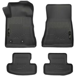 99371 Husky Liners Floor Mats Front New Black Coupe For Ford Mustang 2015-2020