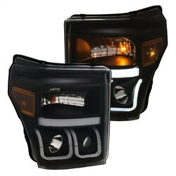 111386 Anzo Headlight Lamp Driver And Passenger Side New For F150 Truck F250 F350