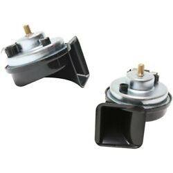 Set-sihn17 Set Of 2 Horns New For 3 Series 318 320 323 325 328 330 Coupe X5 Pair
