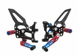 Cnc Racing Adjustable Rearsets Rps Limit. Ed. For Ducati Panigale 899 1199 /s/r