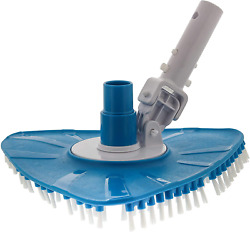 Supply Flexible Triangular Pool Vacuum Head With Swivel And Multi Directional