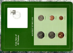 Coin Sets Of All Nations Ireland 1/22 Pence 1982 50p 1983 1510p 1980