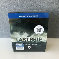 The Last Ship The Complete Series Blu-ray Disc Brand New Sealed-free Shipping