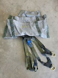 Military Surplus Parachute Harness And Travel Bag
