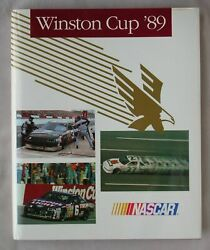 1st Ed 1989 Nascar Winston Cup Grand Nationals Yearbook Champion Rusty Wallace