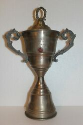 Rare Cup Trophy Metal Cup Soccer Football Sport Collection Coca-cola 1966