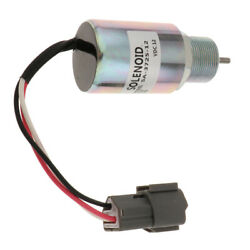 Electric Solenoid Valve 12vdc Compatible With Mahindra Max 28 Tractor, Aluminum