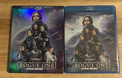 Rogue One A Star Wars Story Blu-ray Disc, 2017, 3-disc Setauthentic Us