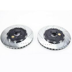 Jbr1583xpr Powerstop Brake Discs 2-wheel Set Front New Awd For Nissan Gt-r 12-19