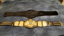 Official Figures Toy Co Wwf Winged Eagle Championship Replica Wrestling Belt