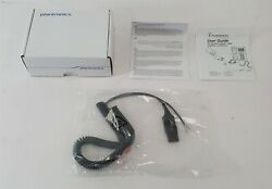 New Plantronics His-1 Adapter Cable 72442-41 For Avaya 9630 9620 9611 9610 9608