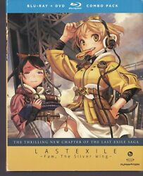 Last Exile Fam The Silver Wing Part One Blu-ray Disc/dvd, 2013, 4-disc Set