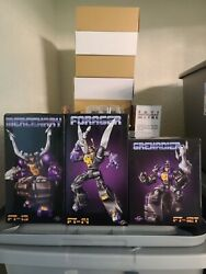 Fans Toys Insecticons Ft-12t Ft-13 Ft-14 Grenadier Mercenary Forager Misb Usa