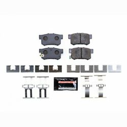 Pst-537 Powerstop Brake Pad Sets 2-wheel Set Rear New Coupe For Honda Civic Tl