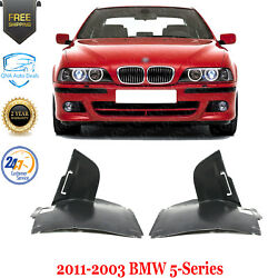 Under Cover Engine Splash Shield Left And Right Side For 2001-2003 Bmw 5-series
