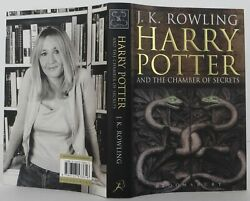 J K Rowling / Harry Potter And The Chamber Of Secrets Signed 1st 2109010