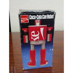 Super Rare Unused Vintage Item Coca Cola Can Robot Coke Shipping From Japan