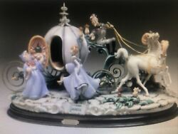 Laurenz Capodimonte - Cinderella With Her Coach - Enzo Arzenton - Made In Italy