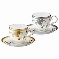 Noritake Noritake Cup And Saucer Switched Colors Pair Set Coffee Tea Combined