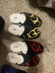2 Pairs Mens Ugg Slippers Size 14