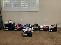 Air Jordans, Kobes And More 53 Pairs All Brand New