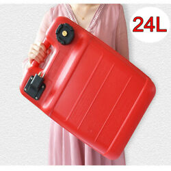 24l Gas Tank Gasoline Diesel Outboard Fuel Tanks For Boat Portable Us Stock