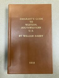 The Emigrantandrsquos Guide To The Western And Southwestern Statesandhellip Darby 1818