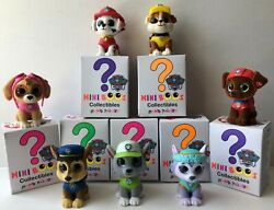 Ty Mini Boos Collectibles Paw Patrol Figures Complete Set Of 7 Including Everest
