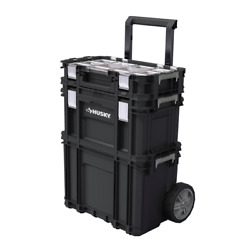 Rolling Tool Box System Set 22 In. Connect Small Parts Storage Mobile Jobsite